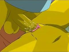 Simpsons naughty porn video