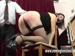 Wife Punished By Professional