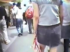 Japanese Upskirt compilation from a perverts collection