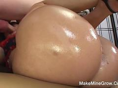 Big Tits Brunette Get Nailed And Got A Cum Inside