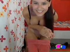 Sweet Teen Newbie Striptease