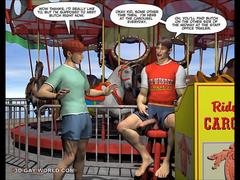 CHARLIE AT THE CARNIVAL 3D Gay Cartoon Anime Hentai Comics