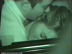 Amateur Couples Sex Inside Of The Car