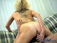 Honey was turned on and she fucked the dude hard