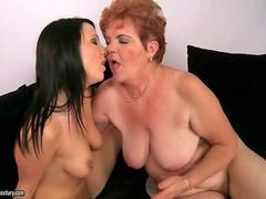 Oldies and Teens Lesbian Compilation