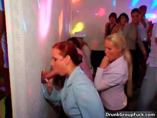 Glory hole party