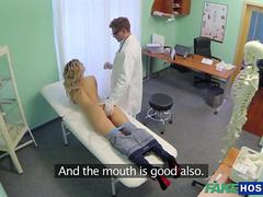 Super Sexy Tracy fucks a her physician
