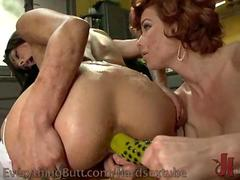 Anal Exploration For Lesbian Maid