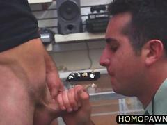 Gay thief gets fucked after getting caught