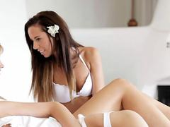 Nubile Films - Could you handle these three gorgeous pussies?