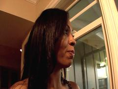 Ebony MILF shares big black gangsta dick with her wonderful and horny daughter