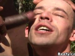Beefy Adventure Leads to Sensual Fuck in the Forest