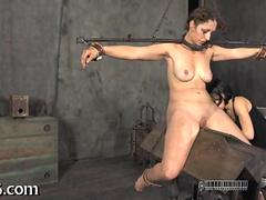 Tied up babe waits lustily clip 2