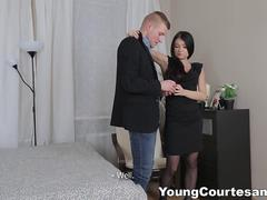 Young Courtesans - Perfect choice of lingerie