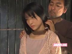 Adorable sexy japanese girl having sex movie 6