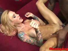 Busty Sarah Jessie gets her pussy pounded