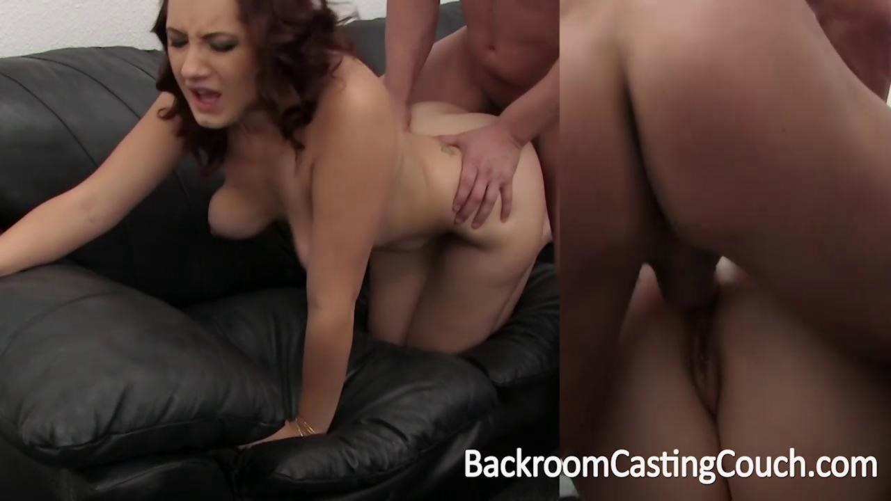 Brenna auditions for a job at Backroom Casting Couch on ...