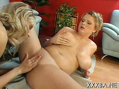 busty ass blonde babe has a pussy rub down syndrome