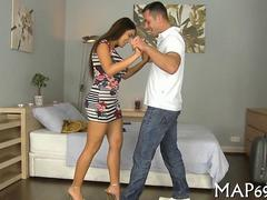high heel slut is so passionate with her sexual expression