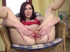 gyno dildo and hard vagina opening  video