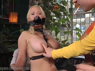 Busty Blonde Fucked On Dirty Streets