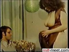 cougar getting fucked in a hot vintage movie