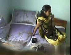 Indian boyfriend squirts inside his busty girlfriend on camera
