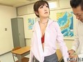 Asian schoolgirls frozen in time fucked by a teacher