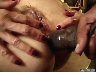 Granny gets anal from BBC