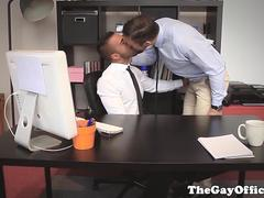 Office hunks assfucking before cumming