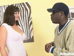Housewife Santina Marie Ordered Black Cock Home Service