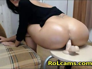 Big Ass Milf Anal Dildo Riding