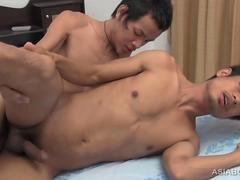 Asian Twinks Oliver and Albert Bareback