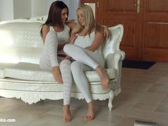 Book of 69 by Sapphic Erotica - Christen Courtney and Alexis Brill lesbians