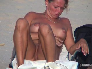 Horny Milfs Naked At The Beach