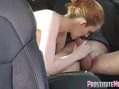 Another Blowjob in My Car from blond hooker