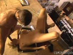 Teen Slut Warehouse Deepthroat