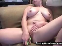 Busty amateurs on masturbation and fucking compilation