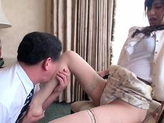 a beautiful young lady of obscene video