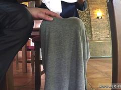 Arab bbc anal xxx Hungry Woman Gets Food and Fuck