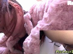 Japanese hos pee on cam