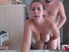 bbw get fucked on the kitchen feature