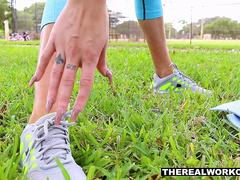 TheRealWorkout - Hot Workout Teen Fucked After Session
