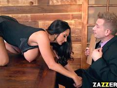 Bill Bailey pounds Ava Addams pussy doggystyle