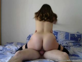 Amateur MILF from Milfsexdating Net rides fuckfriends cock like a real pro