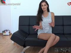 BangBoss takes a skinny brunette on a wild ride