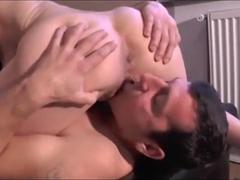 Squirting Creamy Pussy Juice Into His Mouth