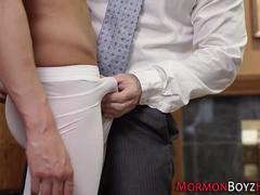 Mormon bears ass fucked