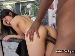 Tight Asian filled with BBC
