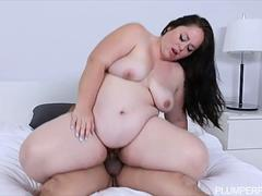 Pregnant BBW Vanessa London Fucks Hubbys Best Friend